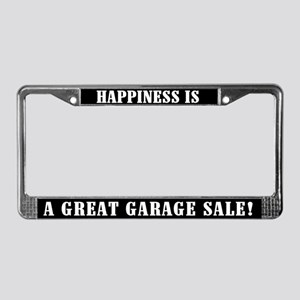 Great Garage Sale License Plate Frame