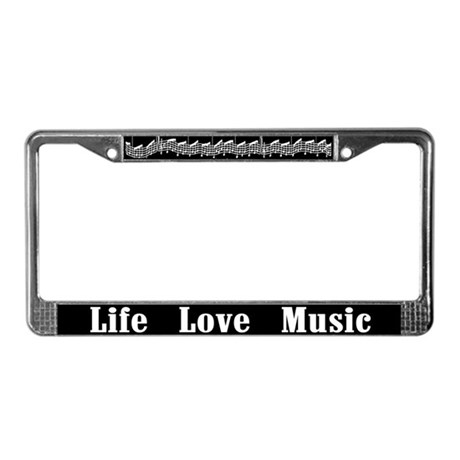 Lowered Lifestyle License Plate Frame,