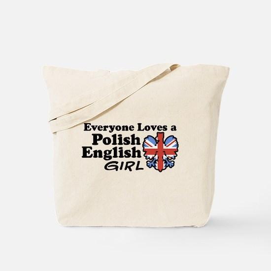 Polish English Girl Tote Bag