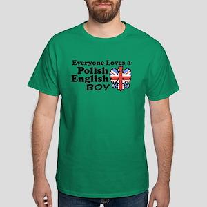 Polish English Boy Dark T-Shirt