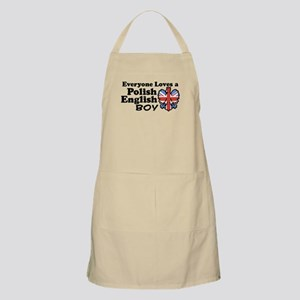 Polish English Boy BBQ Apron