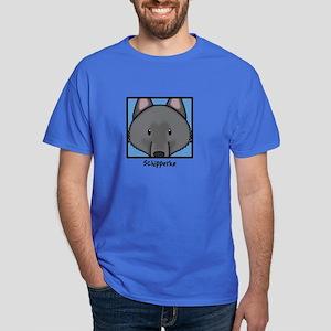Anime Schipperke Dark T-Shirt