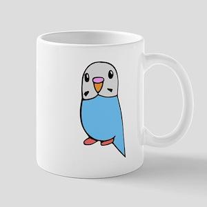 Cute Blue Budgie Mug