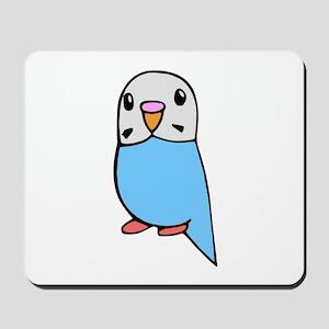 Cute Blue Budgie Mousepad