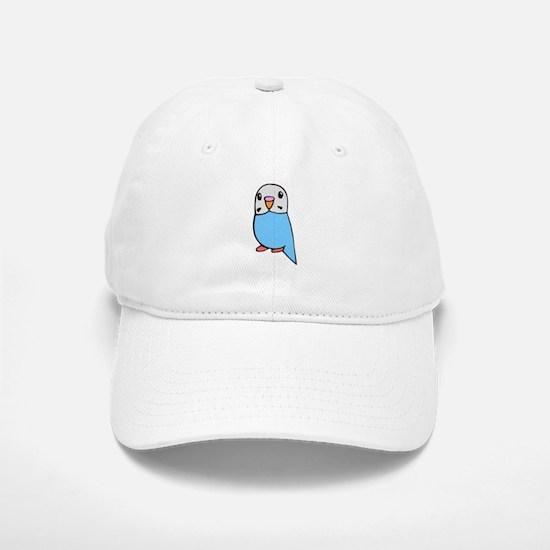 Cute Blue Budgie Baseball Baseball Cap