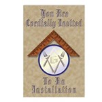 Installation invitation Postcards (Package of 8)