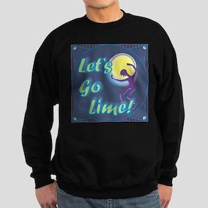 Let's Go Lime! /Sweatshirt (dark)