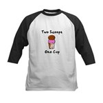 2 Scoops 1 Cup Kids Baseball Jersey