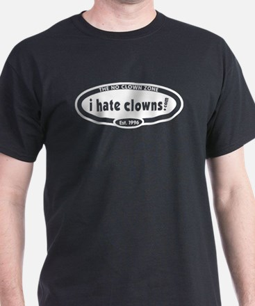 i hate clowns anniversary edition Black T-Shirt