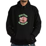 Peas Be With You Hoodie (dark)