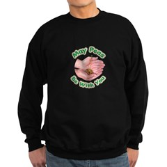 Peas Be With You Sweatshirt (dark)