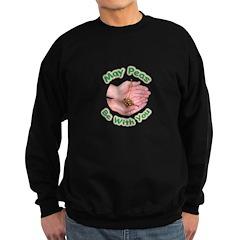 Peas Be With You Sweatshirt (dark)