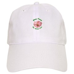 Peas Be With You Baseball Cap