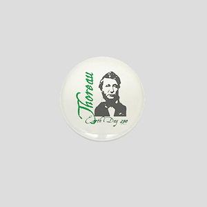 Thoreau Earth Day Mini Button