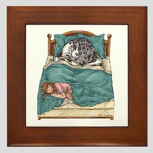 CHNMrl Bedtime Framed Tile