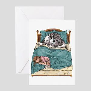 CHNMrl Bedtime Greeting Card