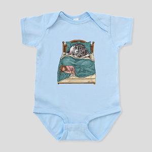 CHNMrl Bedtime Infant Bodysuit