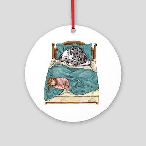 CHNMrl Bedtime Ornament (Round)