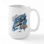F-15 Eagle - MiG Parts Large Mug