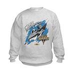 F-15 Eagle - MiG Parts Kids Sweatshirt