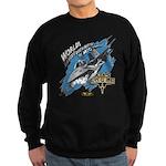 F-15 Eagle - MiG Parts Sweatshirt (dark)