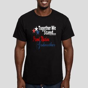 Marine Godmother Men's Fitted T-Shirt (dark)