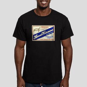 Hawaii Volcanoes (Turtle) Men's Fitted T-Shirt (da