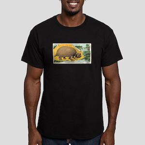 Glyptodon Typus Men's Fitted T-Shirt (dark)