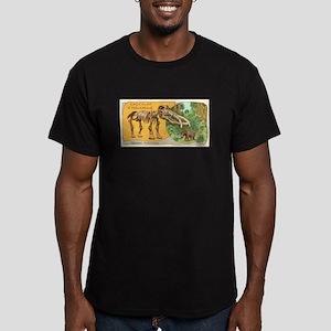 Mastodon Augustideus Men's Fitted T-Shirt (dark)