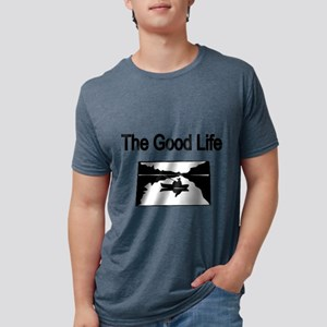 The Good Life. (fisherman on the lake) T-Shirt