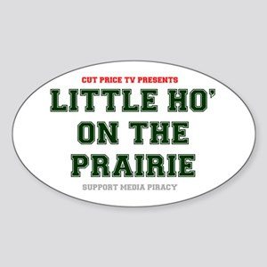 CUT PRICE TV PRESENTS - LITTLE HO ON THE P Sticker