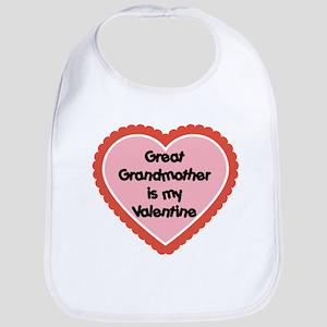 Great Grandmother is my Valentine Bib