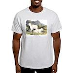 Audubon Mountain Goat Animal (Front) Light T-Shirt