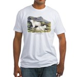 Audubon Mountain Goat Animal (Front) Fitted T-Shir