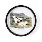 Audubon Mountain Goat Animal Wall Clock