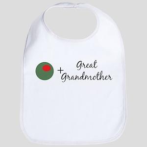 (Olive) Great Grandmother Bib