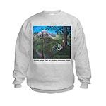 Kids Sweatshirt - Ninos y Jesus en la naturaleza