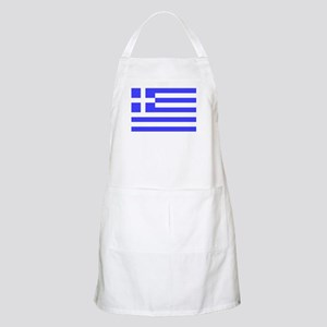Flag of Greece 4 BBQ Apron