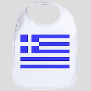 Flag of Greece 4 Bib
