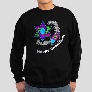 Happy Chanukah Sweatshirt (dark)