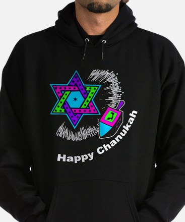 Happy Chanukah Hoodie (dark)