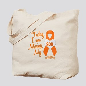 Missing My Son 1 LEUKEMIA Tote Bag