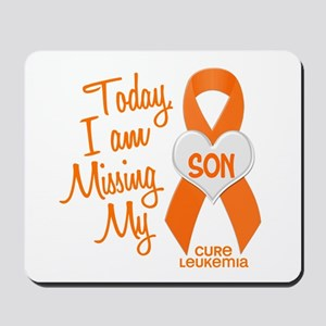 Missing My Son 1 LEUKEMIA Mousepad