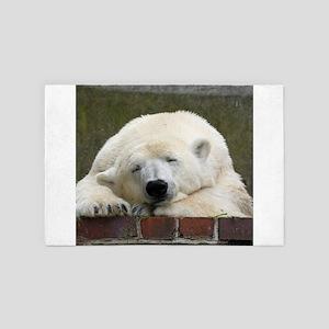 Polar bear 003 4' x 6' Rug