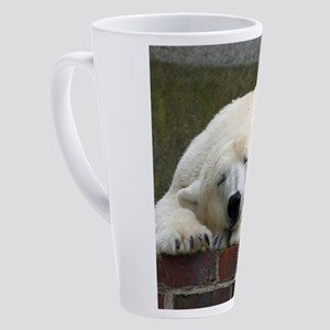 Polar bear 003 17 oz Latte Mug