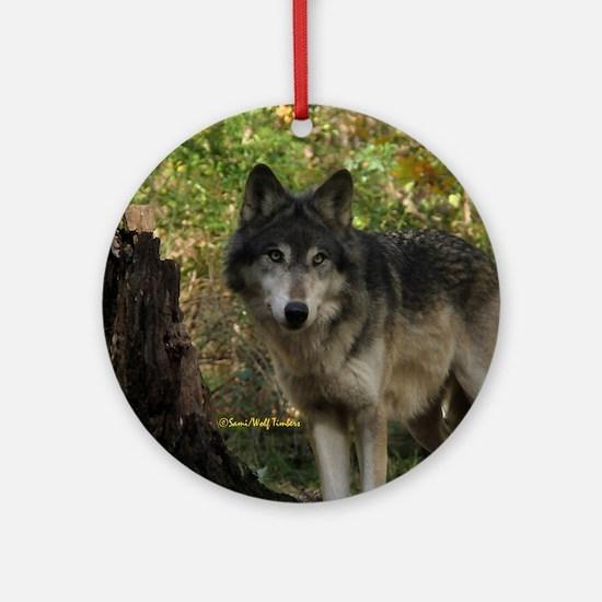 Wolf Spirit Ornament (Round)