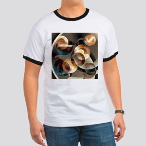 Autumn Circles Abstract T-Shirt