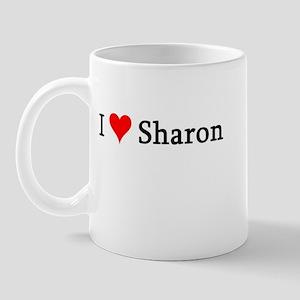 I Love Sharon Mug