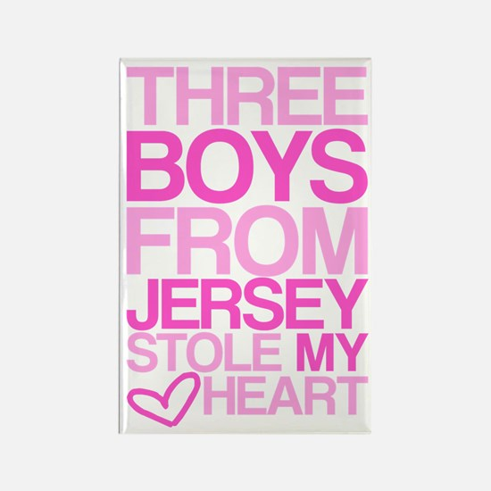 3 Jersey Boys... Rectangle Magnet
