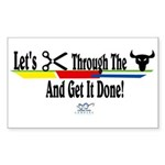 Get it Done Rectangle Sticker 50 pk)